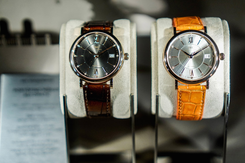 Portofino midsize automatic. Simple and elegant. Definitely a timeless piece.