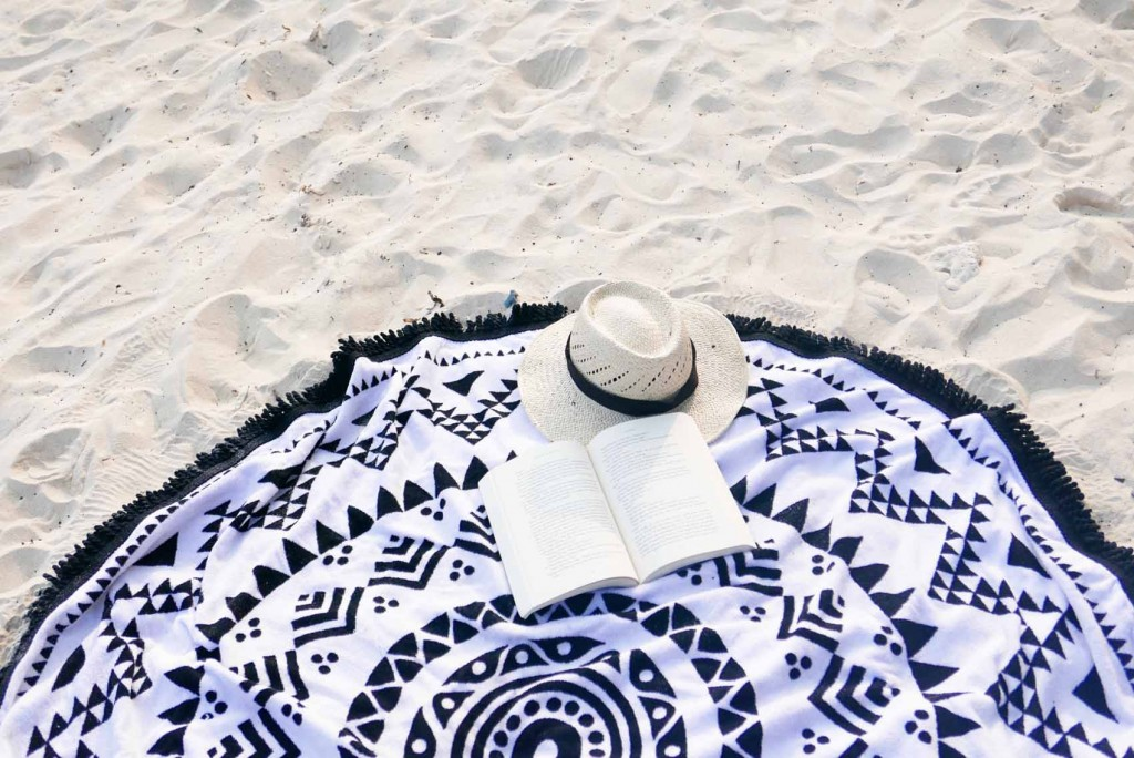 Black scallop maillot swimsuit 3