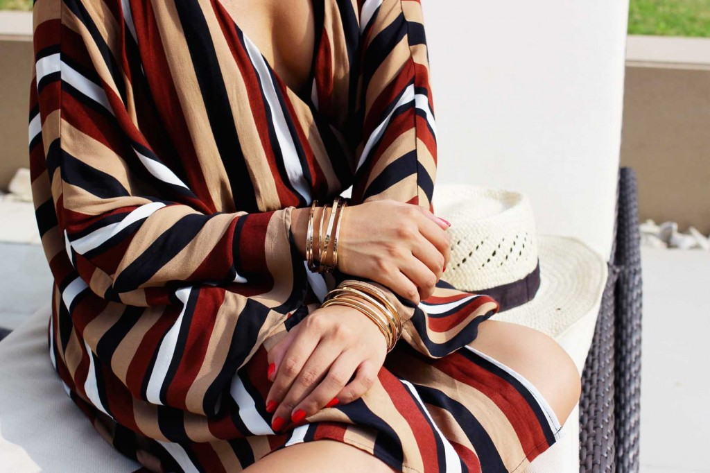 striped beach cover up 2