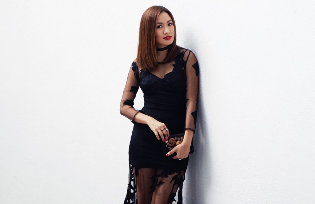 For Love and Lemons lace dress 5