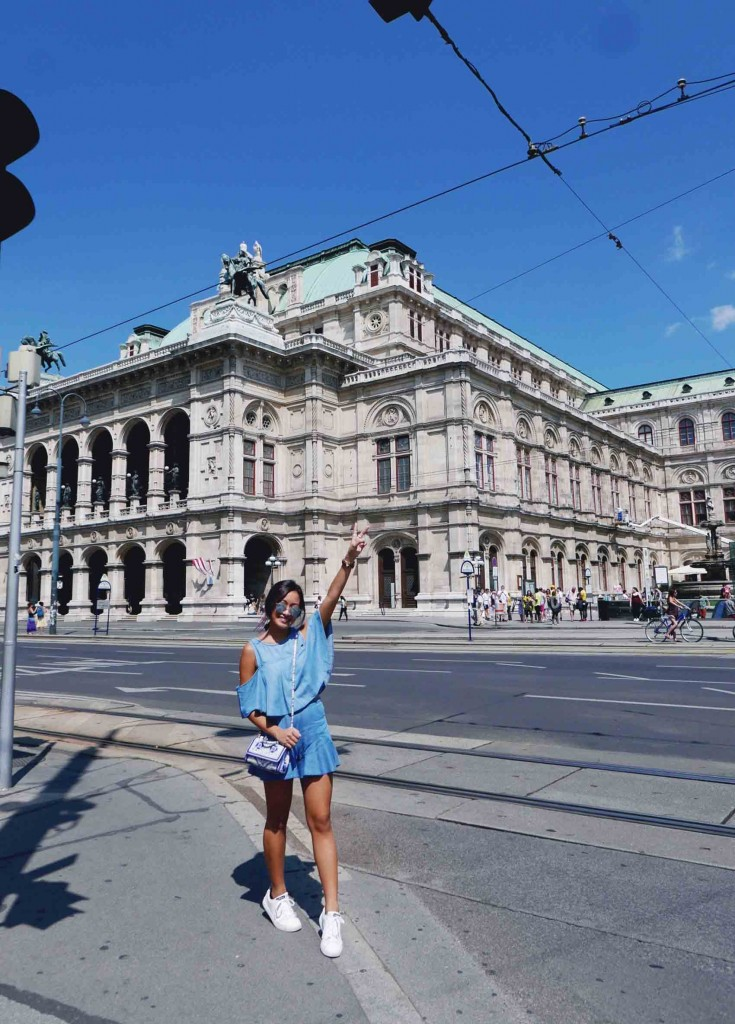 First of the list: Wiener Staatsoper or the Opera House.
