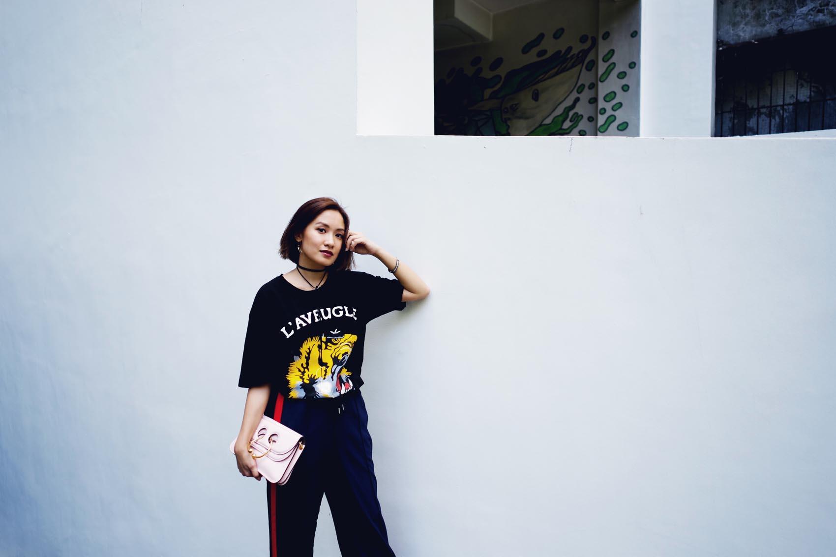 Gucci shirt street style 1