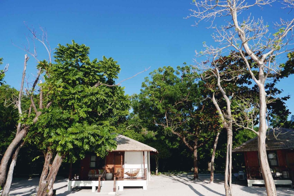 """Each villa has its own """"duyan"""" and I love it! DND."""