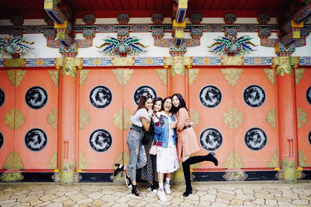 Fave girls Mehak Ghai, Olivia Lazuardy and Joan Kim.