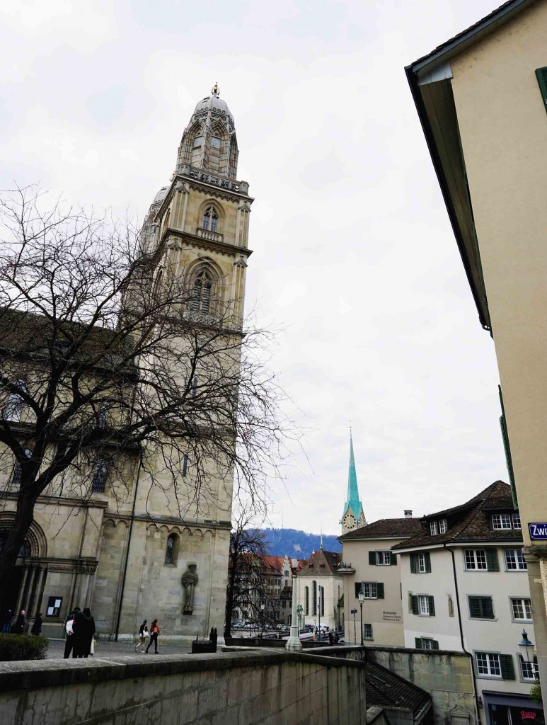 One of my mom's bilins to me every time I travel to a new destination: go inside a church, pray and make three wishes and I'm so happy I was able to do it in Zurich. I went inside this beautiful cathedral and made sure I made my momma proud.