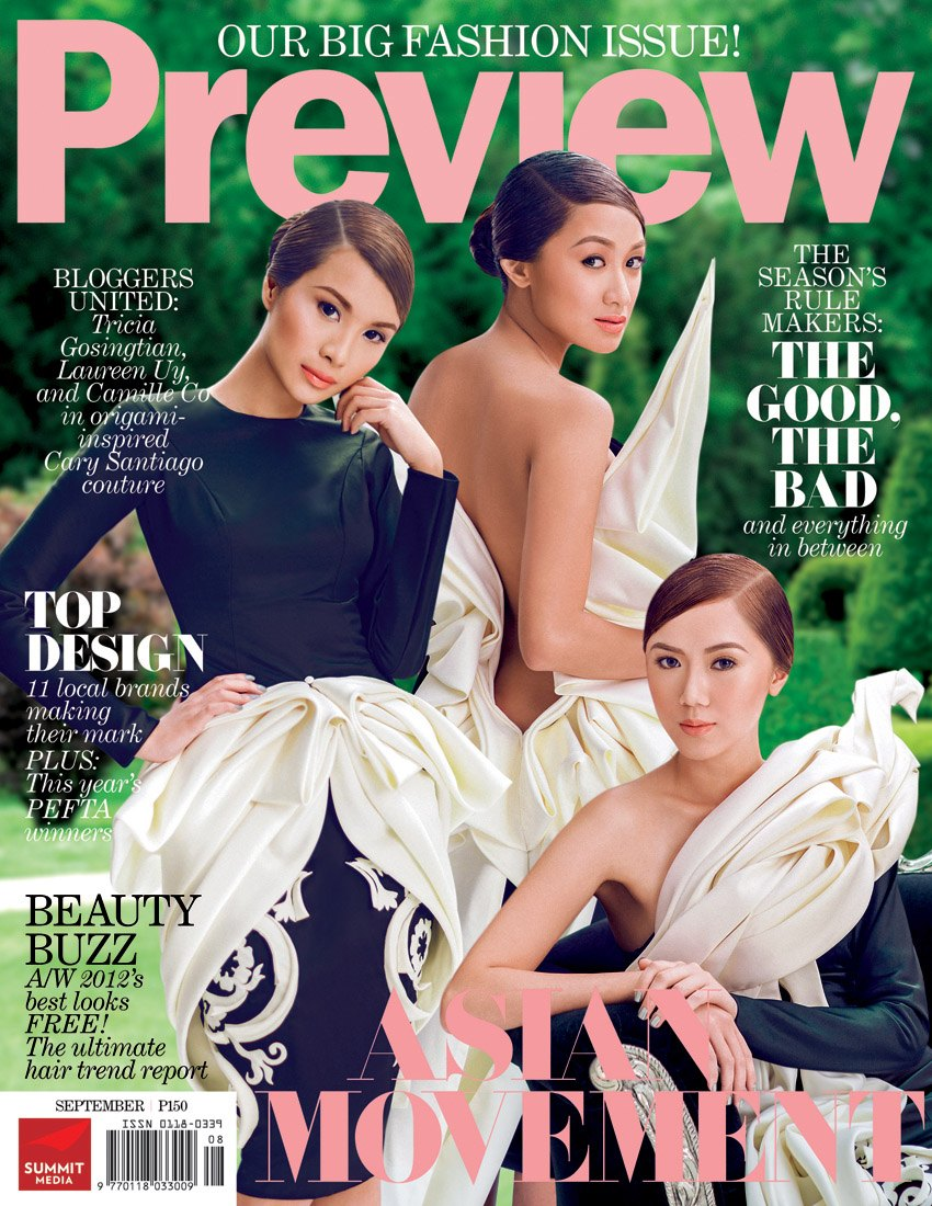 preview magazine the cover shoot laureen uy