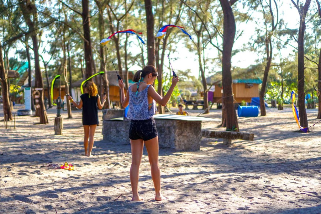 Roxy Outdoor Fitness Camp