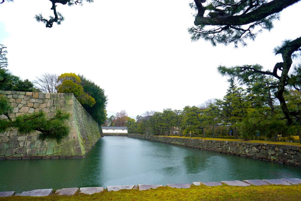 kyoto nijo castle and pontocho