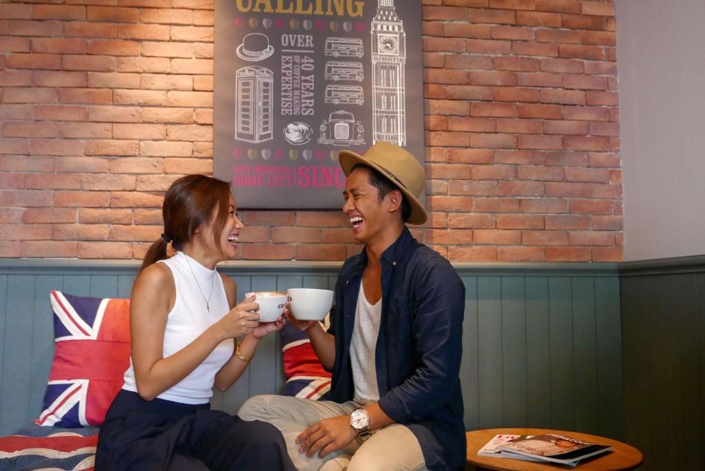 Costa Coffee in Manila