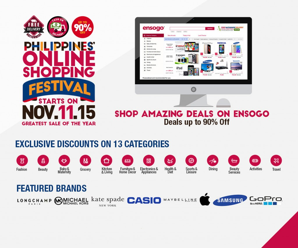 Ensogo Online Shopping Festival