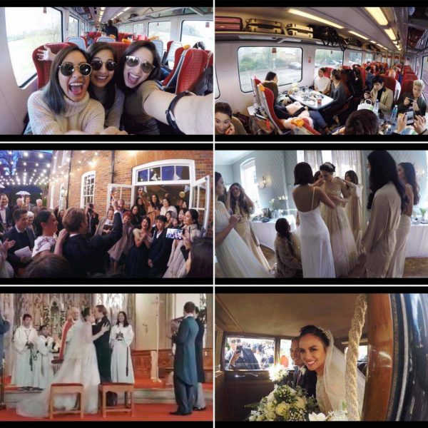 The Burnands Wedding