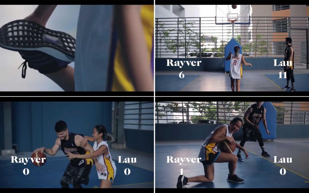 Rayver Cruz Laureen Uy Basketball