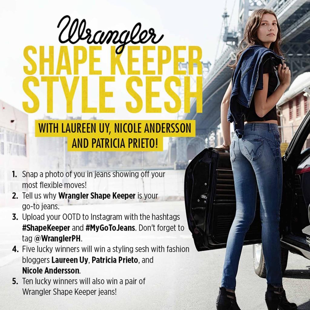 Wrangler Shape Keeper Style Sesh
