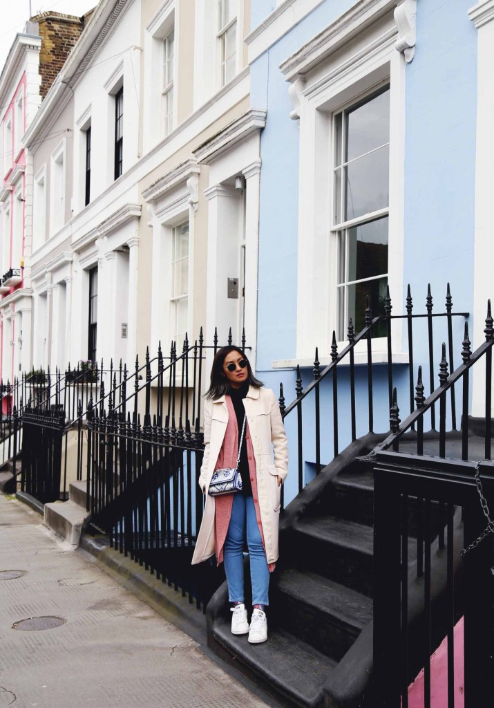 London Notting Hill street style