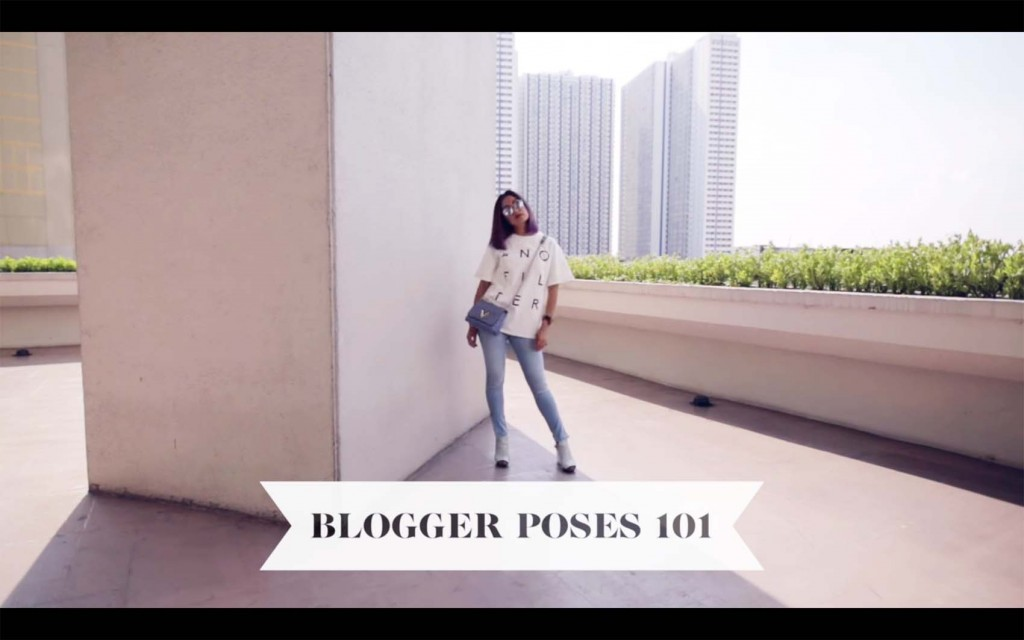 How to Pose Like a Fashion Blogger