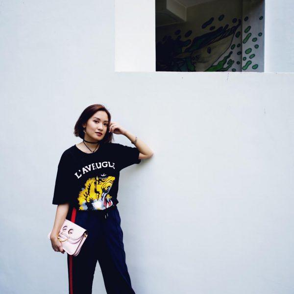 Gucci shirt street style
